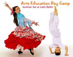 Richmond summer camps Latin Ballet Dance camps